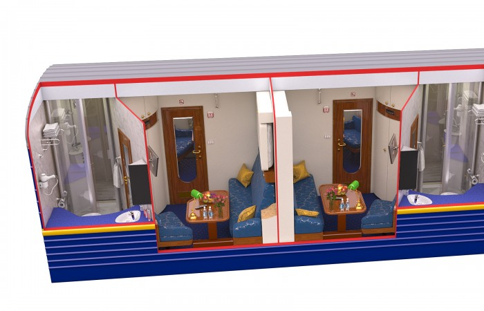Golden Eagle Train - Gold Cabin