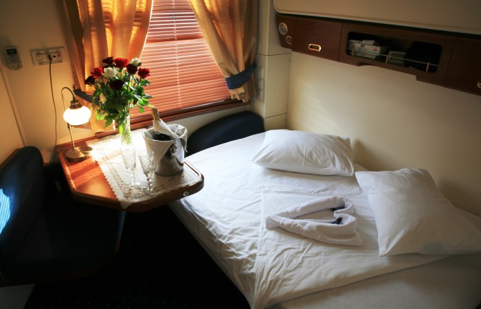 Golden Eagle Train - Gold Class Cabin